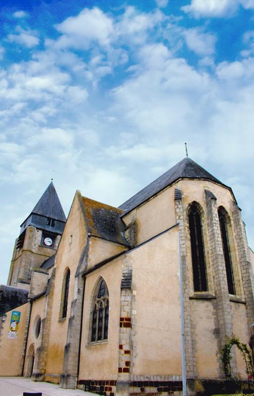 Eglise Saint-Martin – Aubigny-sur-Nère