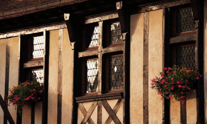 Façade Maison à Colombages – Aubigny-sur-Nère