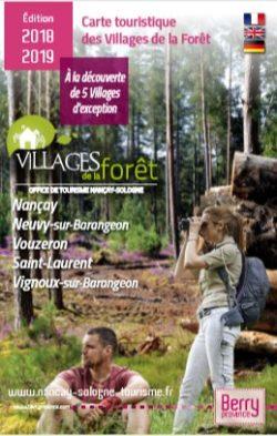 Carte touristique Villages de la Forêt