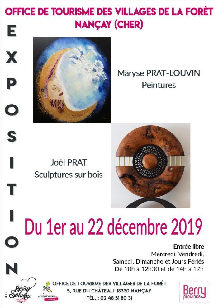 Affiche exposition décembre 2019 – Nançay