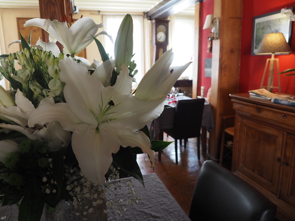 HOTEL LA SOLOGNOTE BRINON SUR SAULDRE RESTAURANTS FLEURS