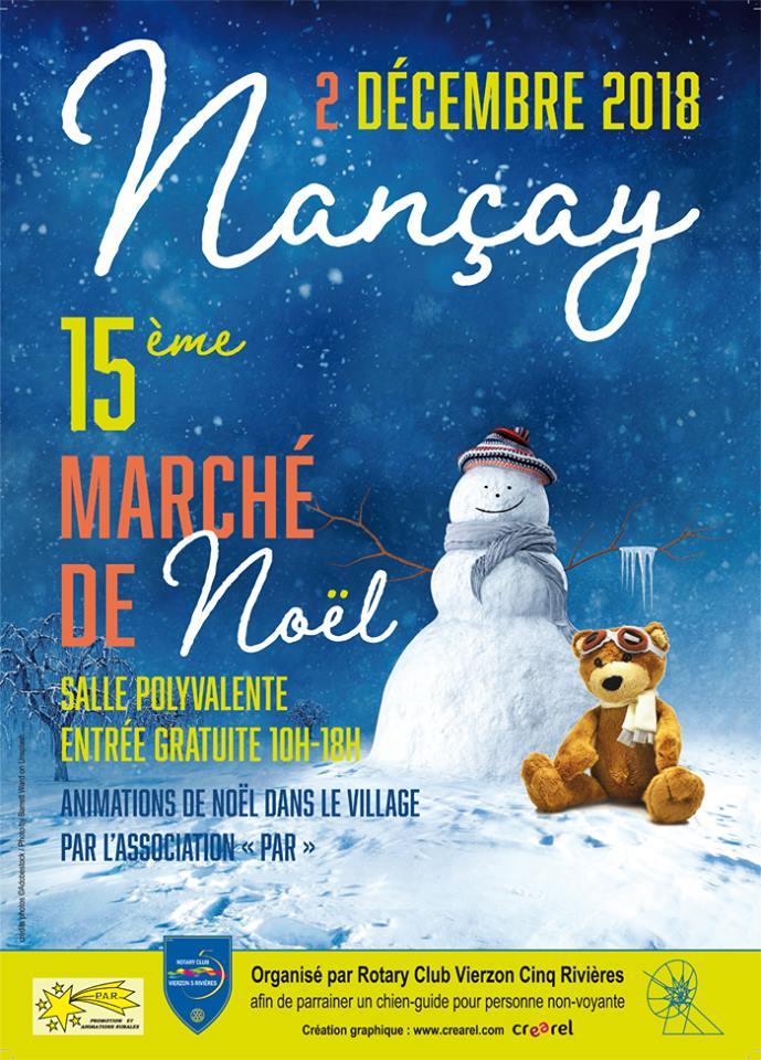 NANCAY-marché de noël 2018