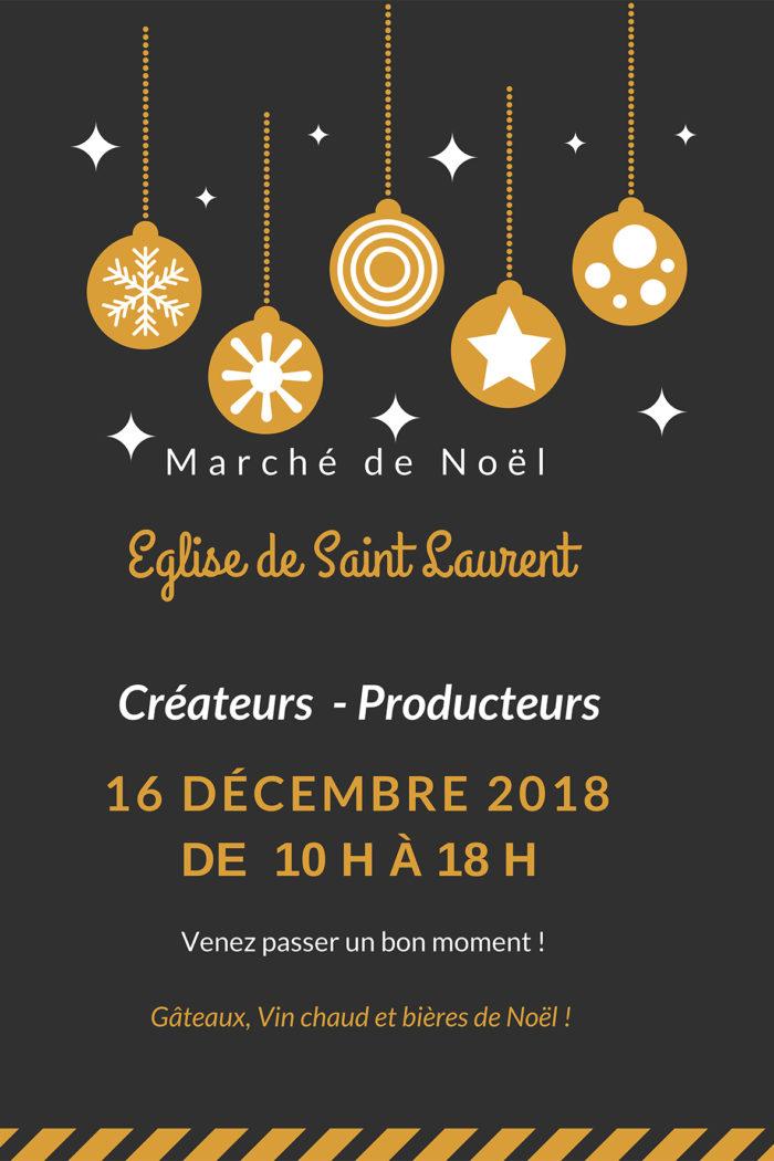 marche de noel – Saint Laurent